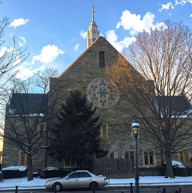 Church_Winter