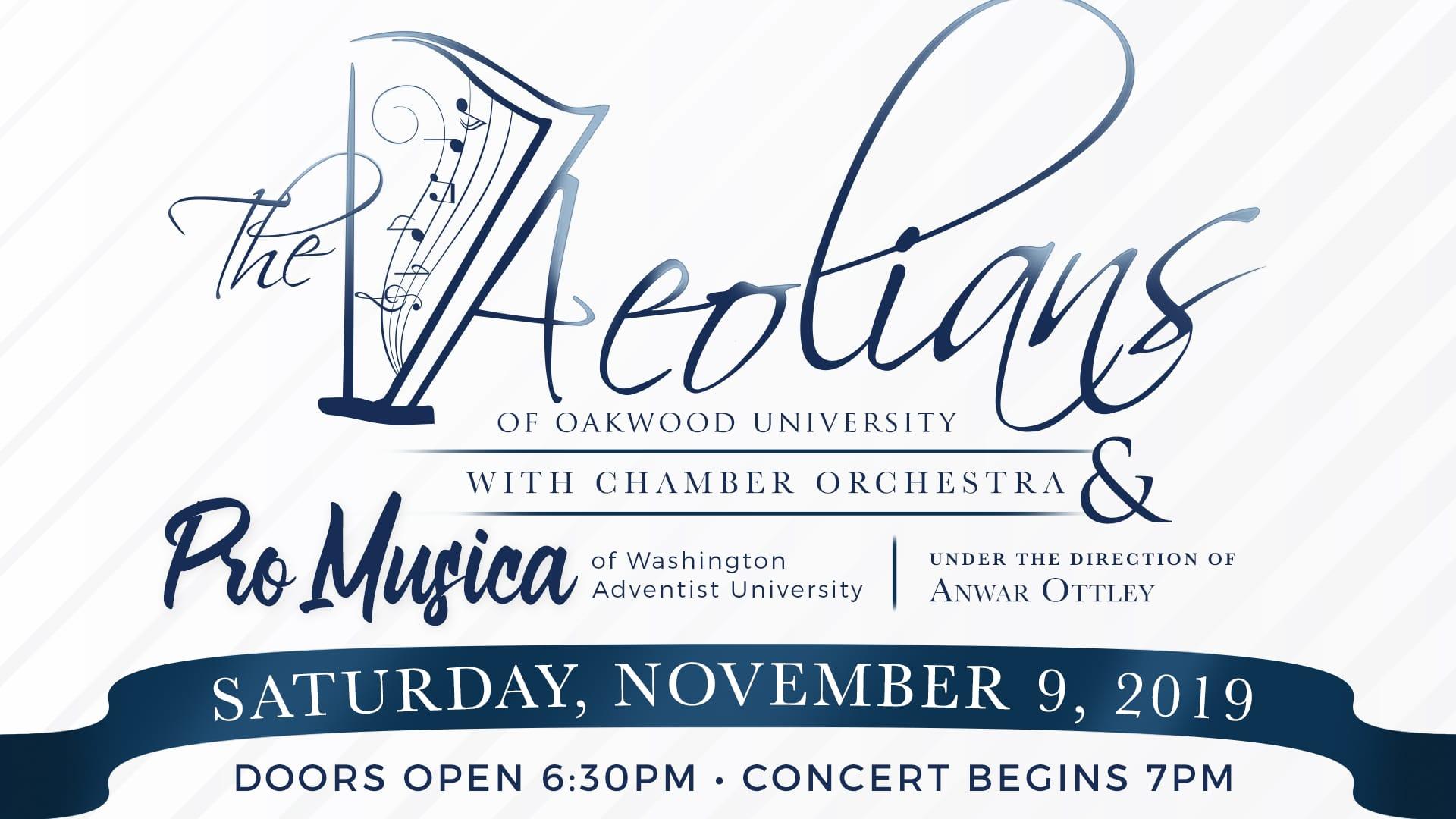 Aeolian Concert Flyer